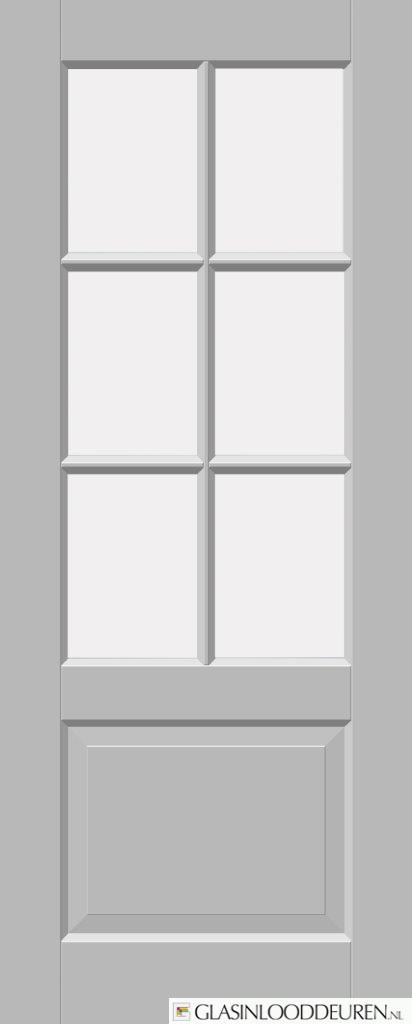 TREND D762 (6-vlaks roede glas bebost)