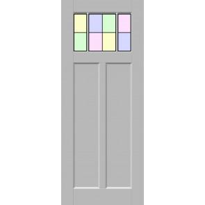 Glas-in-lood drieluik 1