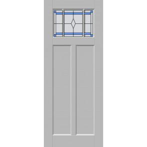 Glas-in-lood drieluik 11