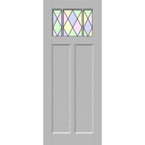 Glas-in-lood drieluik 12