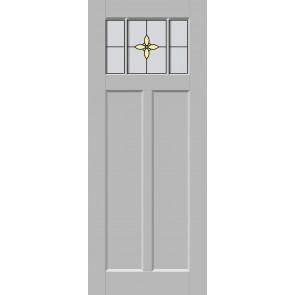 Glas-in-lood drieluik 17
