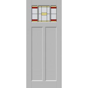 Glas-in-lood drieluik 23