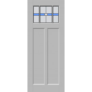 Glas-in-lood drieluik 4