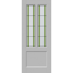 Glas-in-lood Smal 7