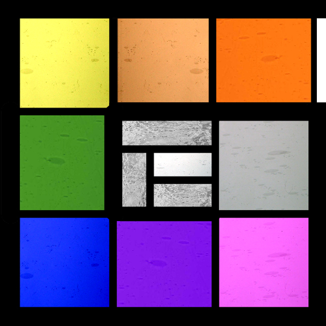 Glas-in-lood kleuren