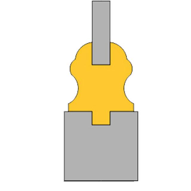 deurprofiel bergacker glasinlooddeuren